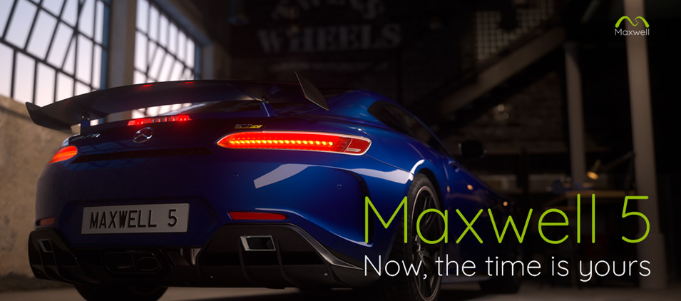 Maxwell Render V5 Out Now